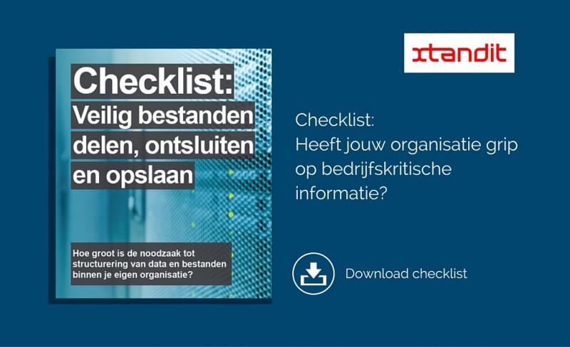 Checklist veilig bestanden delen - LI advertentie